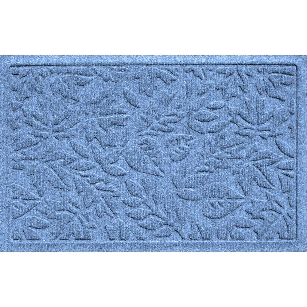 Aqua Shield Fall Day Medium Blue 17.5 in. x 26.5 in.