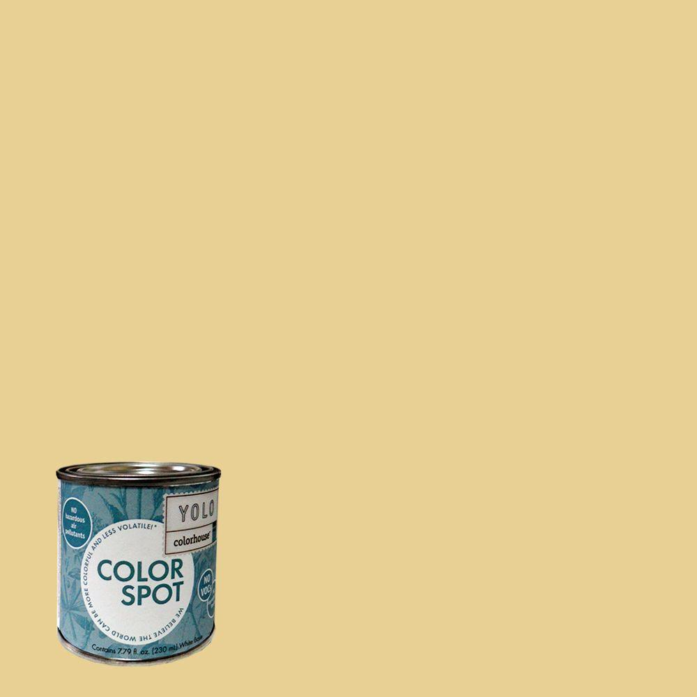 YOLO Colorhouse 8 oz. Beeswax .02 ColorSpot Eggshell Interior Paint Sample-DISCONTINUED