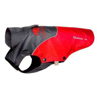X-Large Red and Black Subzero-Storm Waterproof 3M Reflective Dog Coat with Blackshark Technology
