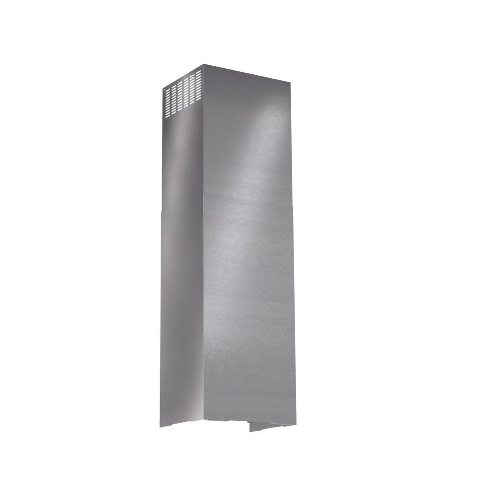 Chimney Extension for Bosch Pyramid Style Wall Range Hoods in Stainless
