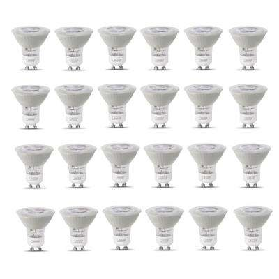 50-Watt Equivalent MR16 GU10 Dimmable CEC Title 20 Compliant LED 90+ CRI Frosted Flood Light Bulb, Daylight (24-Pack)