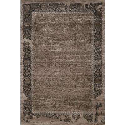 Weathered Treasures Relic Taupe 7 ft. 10 in. x 10 ft. 6 in. Area Rug