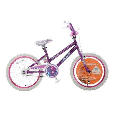Dragonfly 20 in. Girls Bicycle