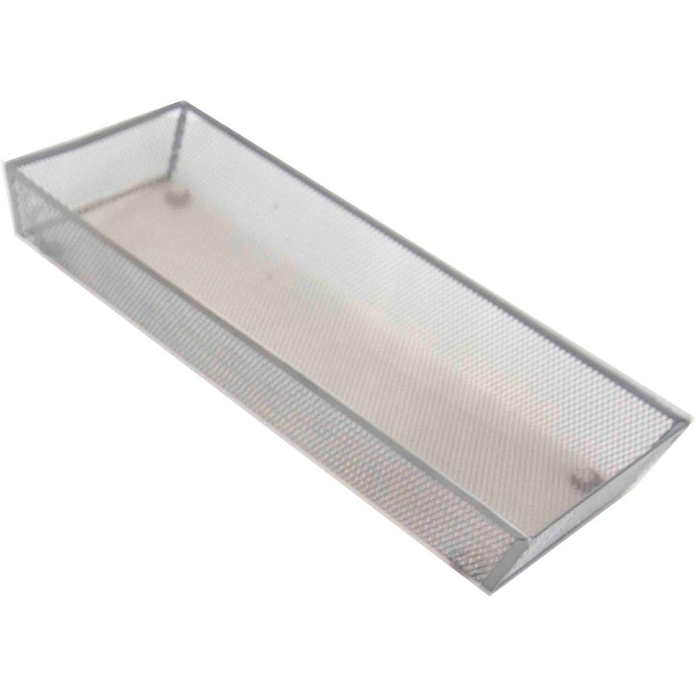 Silver Mesh Steel Drawer Organizer