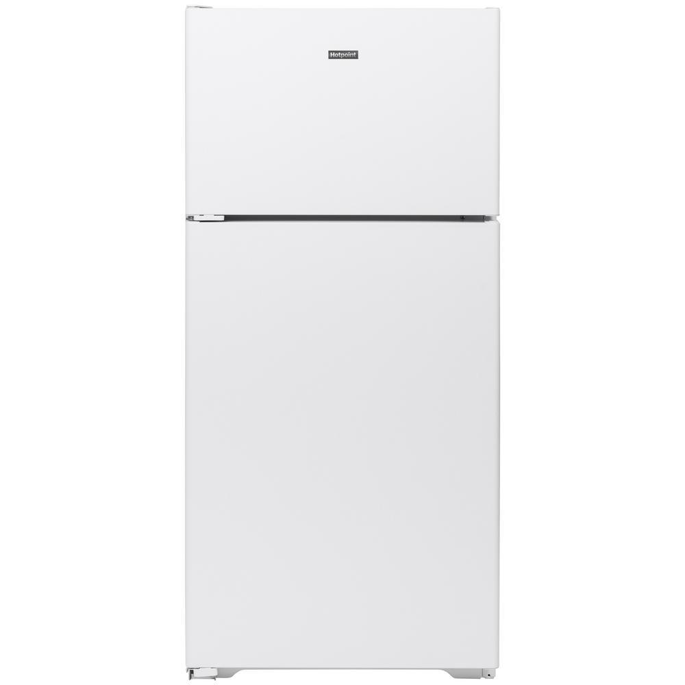 15.6 cu. ft. Top Freezer Refrigerator in White