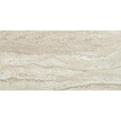 Sigaro Ivory 12 in. x 24 in. Glazed Ceramic Floor and Wall Tile (16 sq. ft. / case)