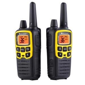 Midland X-Talker 32-Mile 2-Way Radios with DTC and USB Charger in Black by Midland