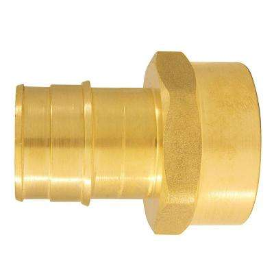 1 in. Brass PEX-A Expansion Barb x 1 in. FNPT Female Adapter