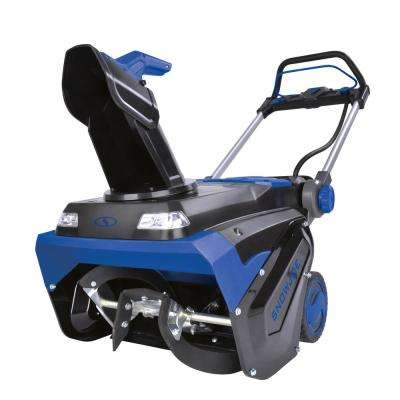 21 in. 100-Volt Max 5 Ah Brushless Lithium-iON Single Stage Cordless Electric Snow Blower