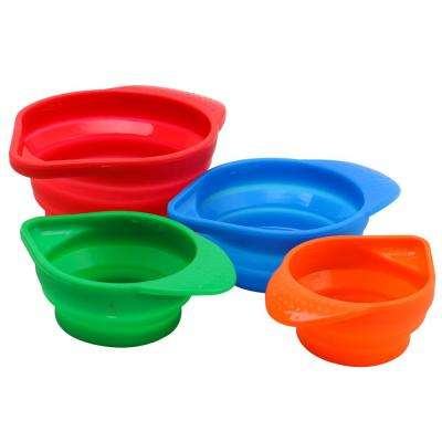 Howland 4-Piece Collapsible Measuring Cup Set