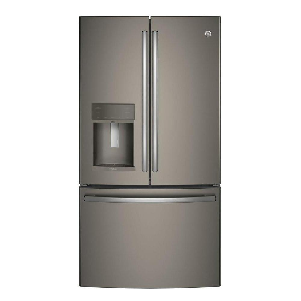 Shop Kitchenaid 21 9 Cu Ft Counter Depth French Door: KitchenAid 36 In. W 21.9 Cu. Ft. French Door Refrigerator