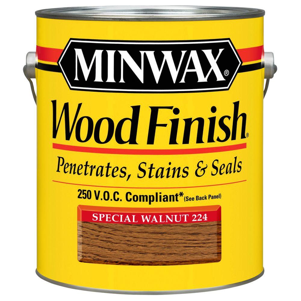 1 gal. Wood Finish Special Walnut Oil Based Interior Stain 250