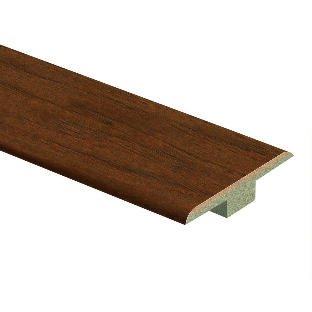 Zamma Apple Cinnamon Hickory 3/8 in. Thick x 1-3/4 in. Wide x 94 in. Length Hardwood T-Molding