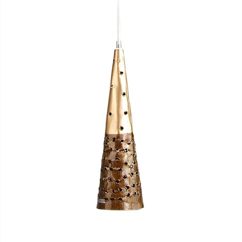 Filament Design Xavier 1-Light Gold Pendant