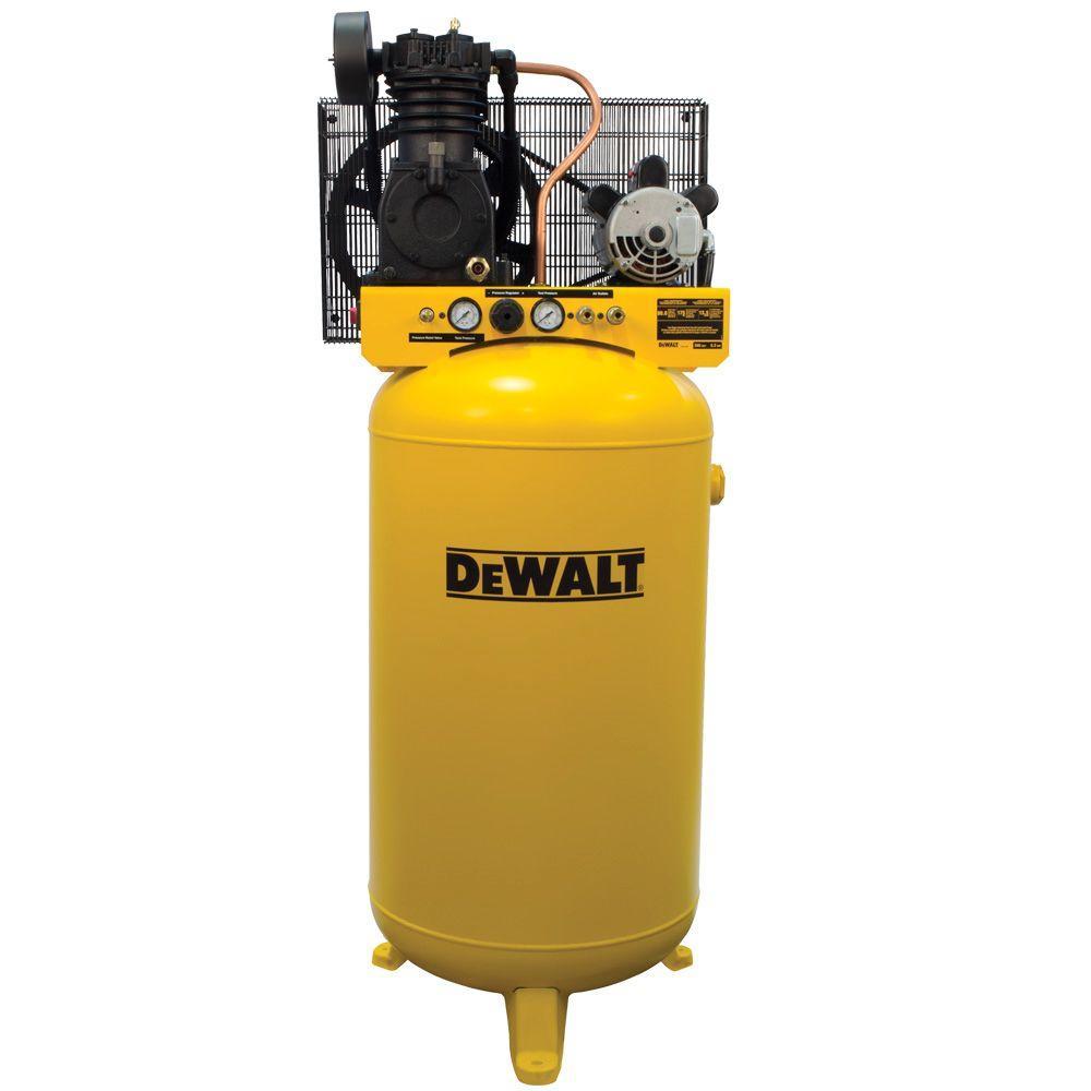 Dewalt 80 Gal Stationary Electric Air Compressor