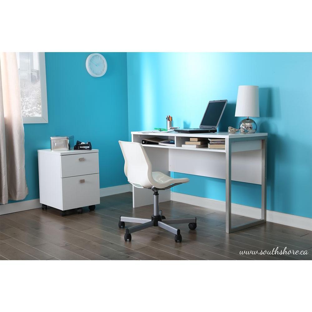 Interface Desk in Pure White