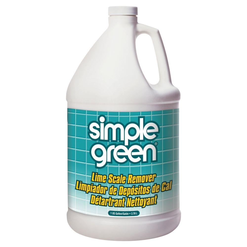 CLR 1 Gal. Calcium, Lime and Rust Remover (4-Case)-CL4 - The Home Depot