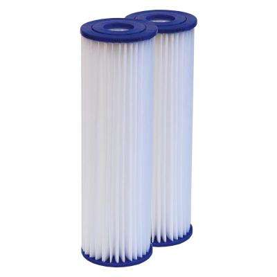 Universal Poly Pleat Cartridge (2-Pack)