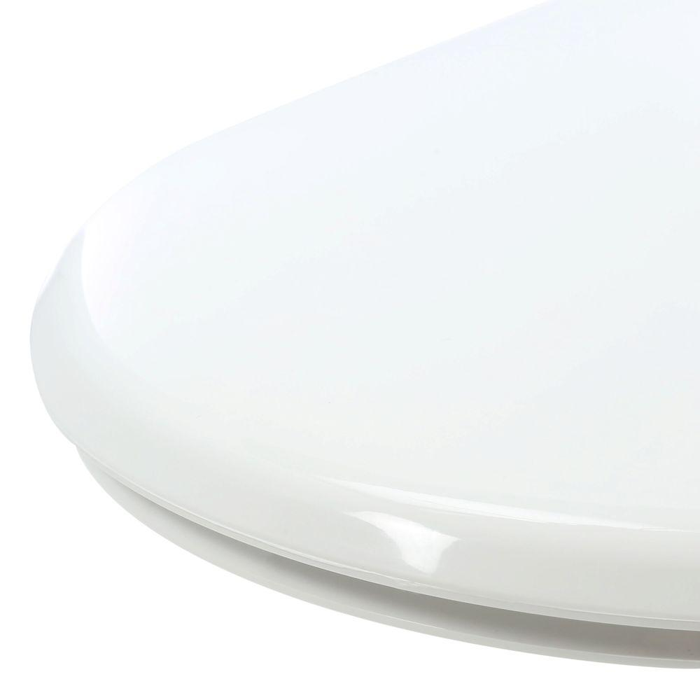 Swell Bemis Slow Close Elongated Closed Front Toilet Seat In White Machost Co Dining Chair Design Ideas Machostcouk