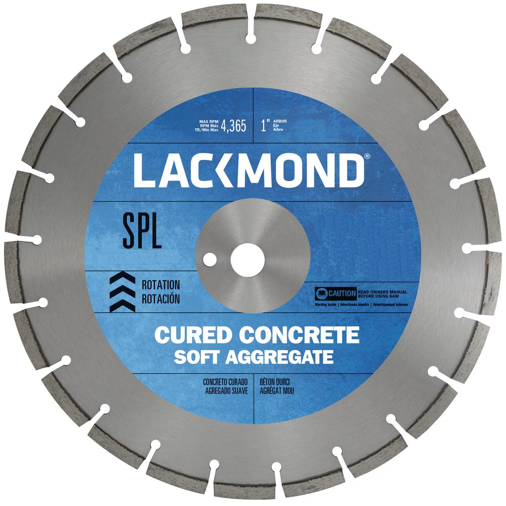 Standard Cw10 Series Wet Cut Diamond Blade For Cured