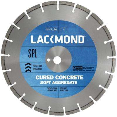 Standard CW10 Series Wet Cut Diamond Blade for Cured Concrete 16 in. x 0.125 x 1 in.