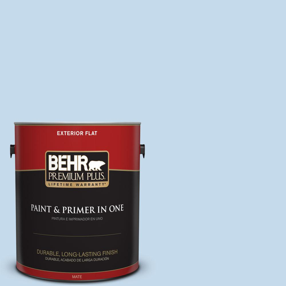 Home Decorators Collection 1-gal. #HDC-CT-15 Summer Sky Flat Exterior Paint