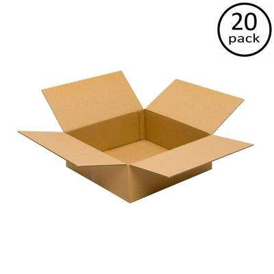 18 in. L x 18 in. W x 6 in. D  Moving Box (20-Pack)