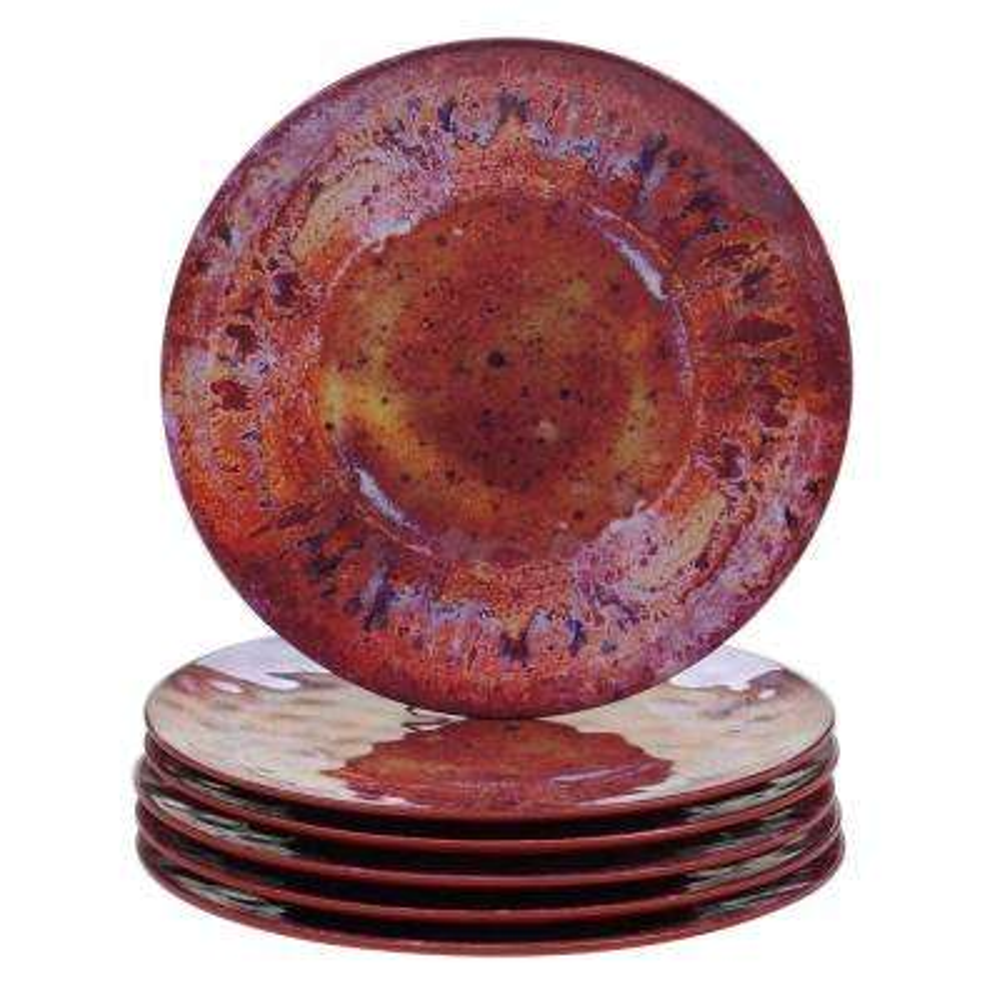Radiance Multicolor Dinner Plate (Set of 6)