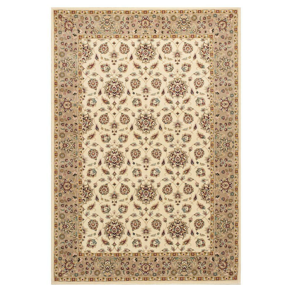 Classic Studio Ivory/Beige 7 ft. 7 in. x 10 ft. 10