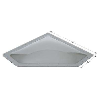 Standard RV 18 in. x 30 in. x 4 in. Skylight