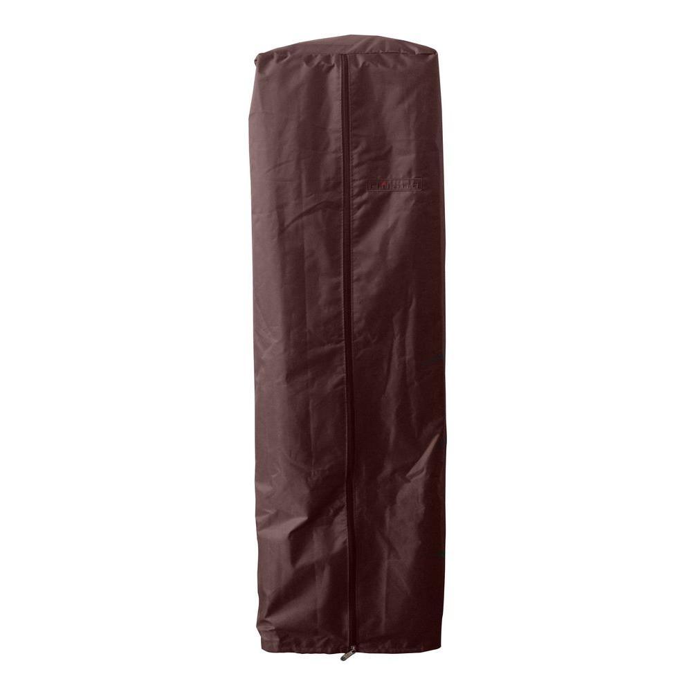 38 in. Heavy Duty Mocha Portable Glass Tube Heater Cover
