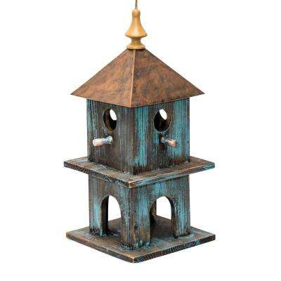 18 in. Tall Blue Artful House