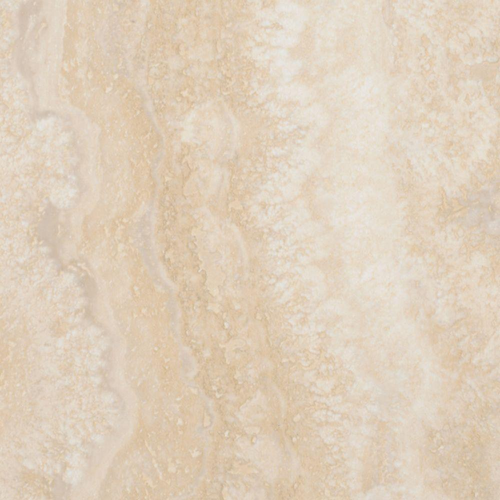Take Home Sample Allure Ultra Tile Aegean Travertine Natural Luxury Vinyl Flooring 4 In X 4