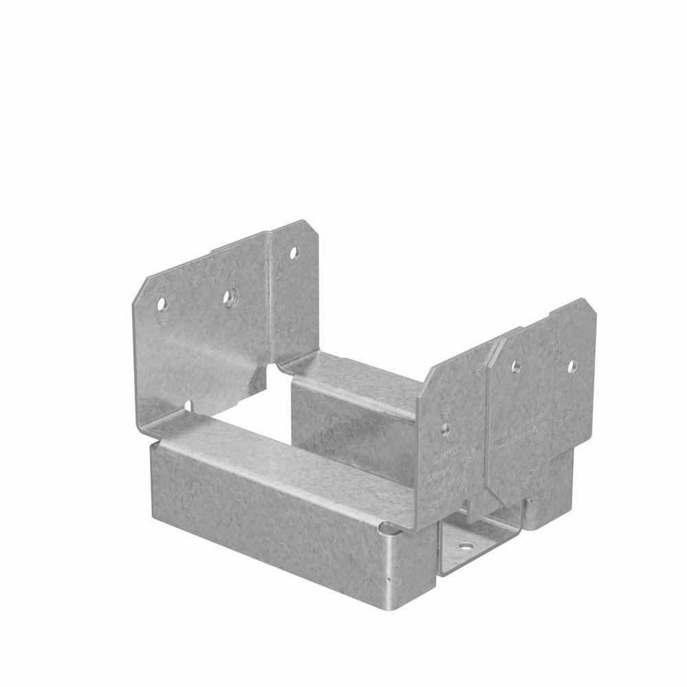 ABA 4 in. x 4 in. Rough ZMAX Galvanized Adjustable Post