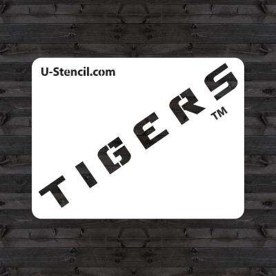 "LSU ""TIGERS"" Mini Stencil"