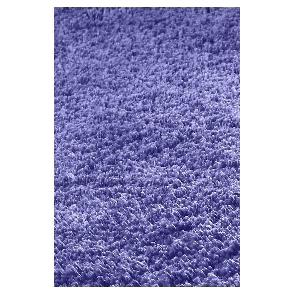 Kas Rugs Cushy Shag Purple 5 ft. x 7 ft. Area Rug