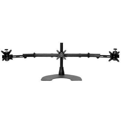 Freedom Triple Desk Stand with Telescoping Wings