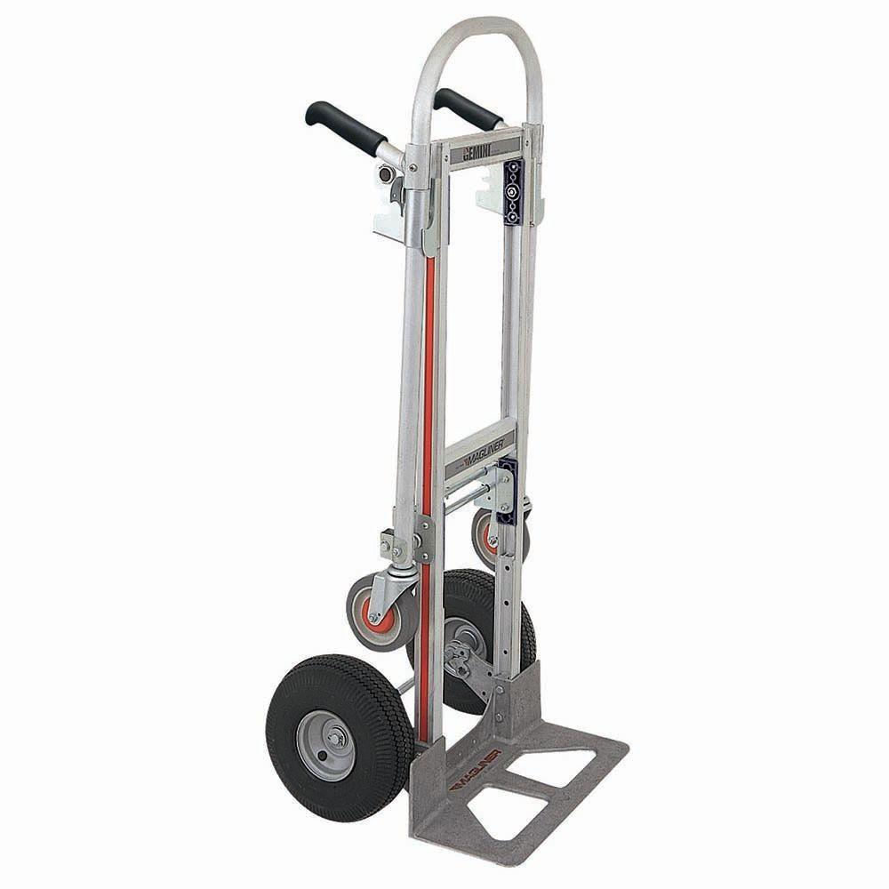 Aluminum Platform Trucks Dollies Material Handling Equipment The Home Depot