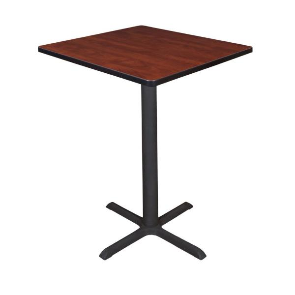 Regency Cain Cherry 30 in. Square Cafe Table TCB3030CH
