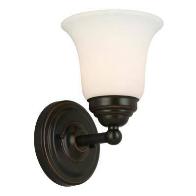 Ashhurst 1-Light Oil Rubbed Bronze Wall Sconce