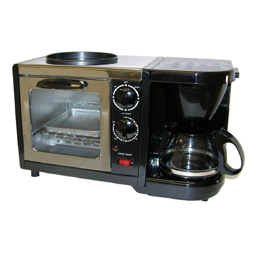 Spt Black 3 In 1 Breakfast Center Bm 1107 The Home Depot