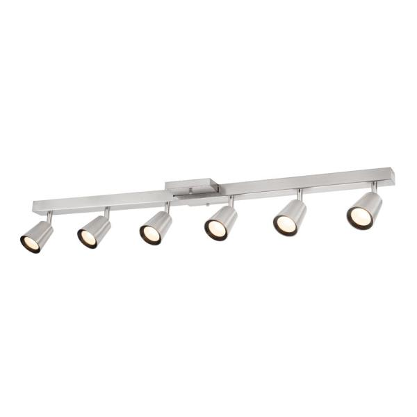 Sunray 39 37 In 6 Light Brushed Nickel