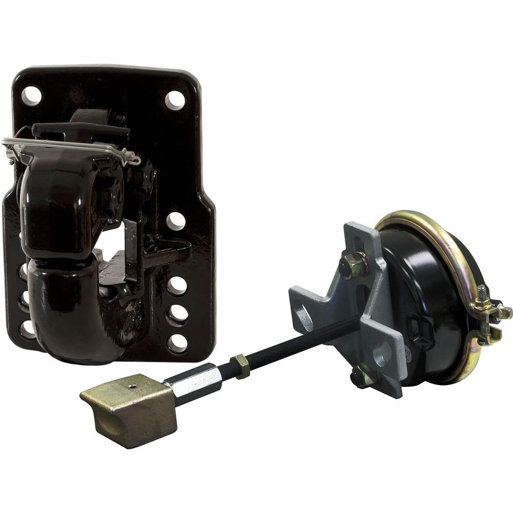 50 Ton 10 Hole Pintle Hook with Air Chamber and Plunger