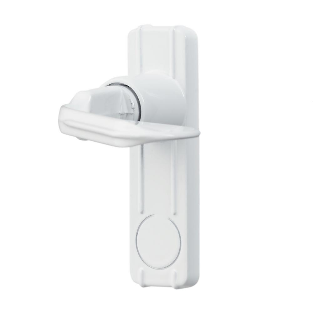 Ideal Security Handle Set For In Swing Storm And Screen Doors In White Isb1am The Home Depot