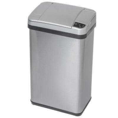 4 Gal. Stainless Steel Touchless Multifunction Sensor Trash Can with Deodorizing Carbon Filter Technology
