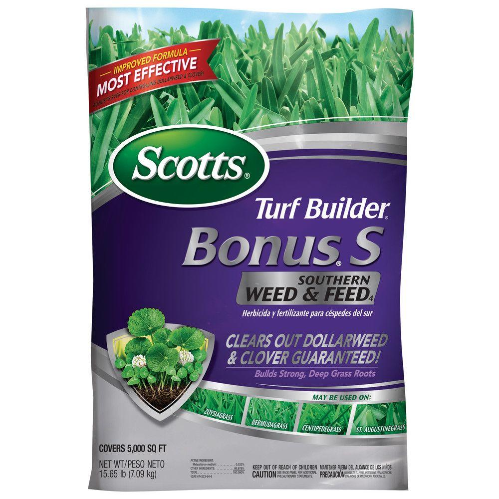 Scotts Bonus S 10m 41 5 Lb Florida Weed And Feed Fertilizer 21015 The Home Depot