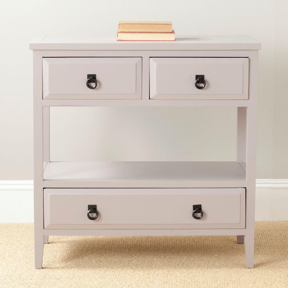 Branson Grey Storage Console Table