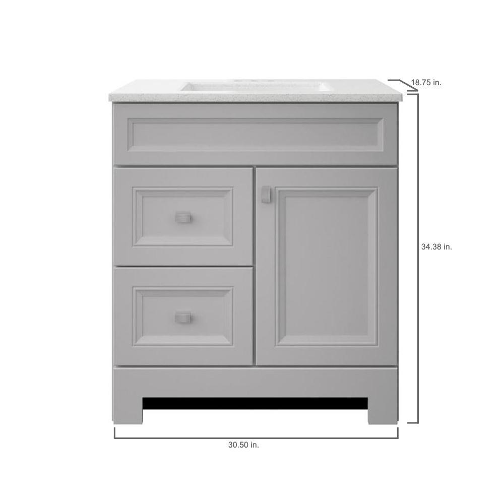 Home Decorators Collection Sedgewood 30, 30 Wide Bathroom Vanity