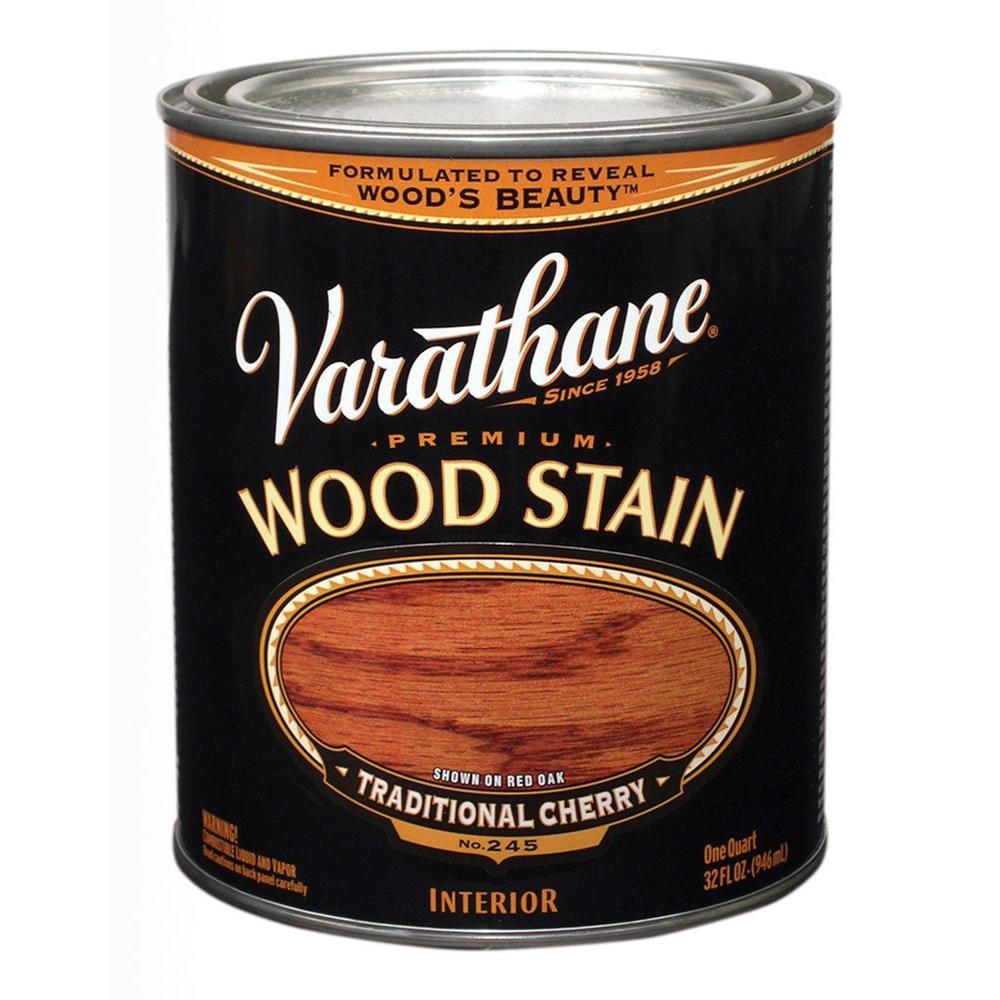 1-Qt. Traditional Cherry Premium Interior Wood Stain