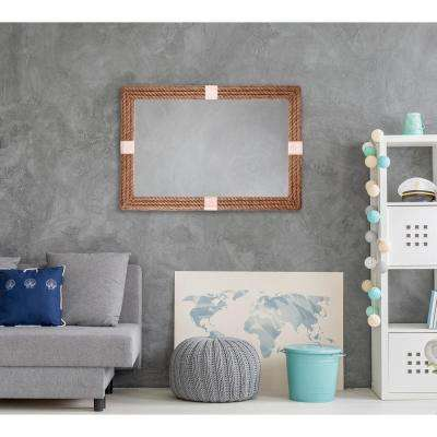 Roy 42 in. x 28 in. Framed Wall Mirror